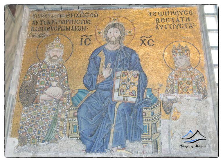 Mosaicos de Santa Sofía