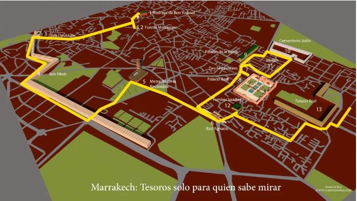 Tesoros de Marrakech
