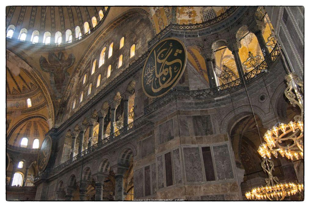 Visita a la basilica de santa sofia