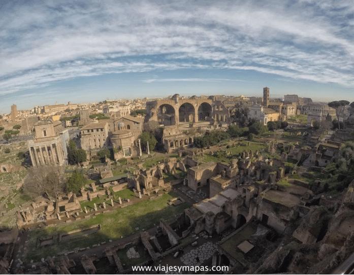 vistas del Foro Romano