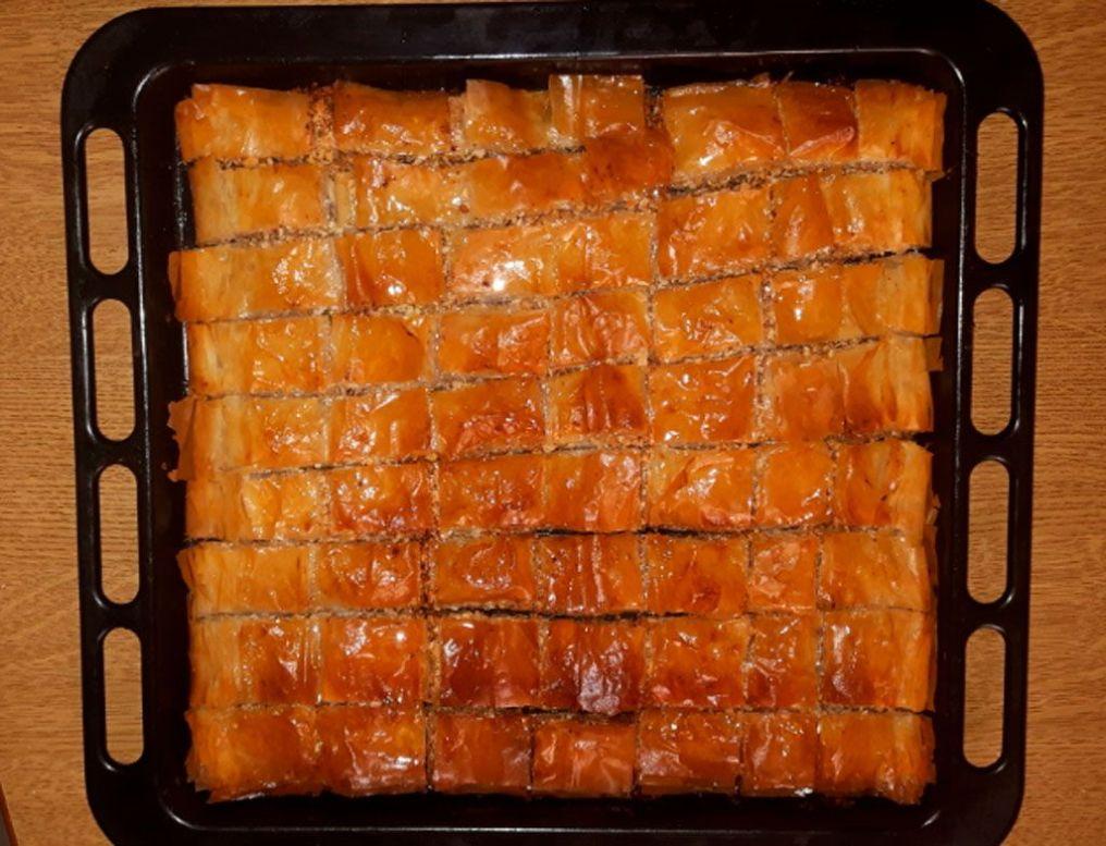 baklavá-receta