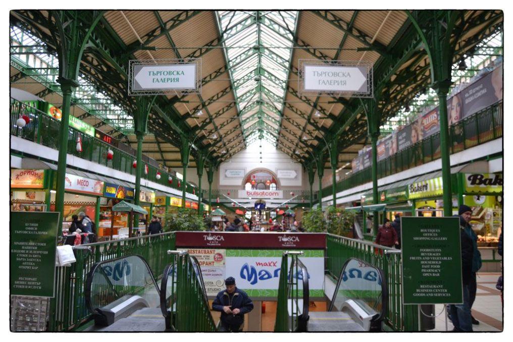 Mercado central de Sofia