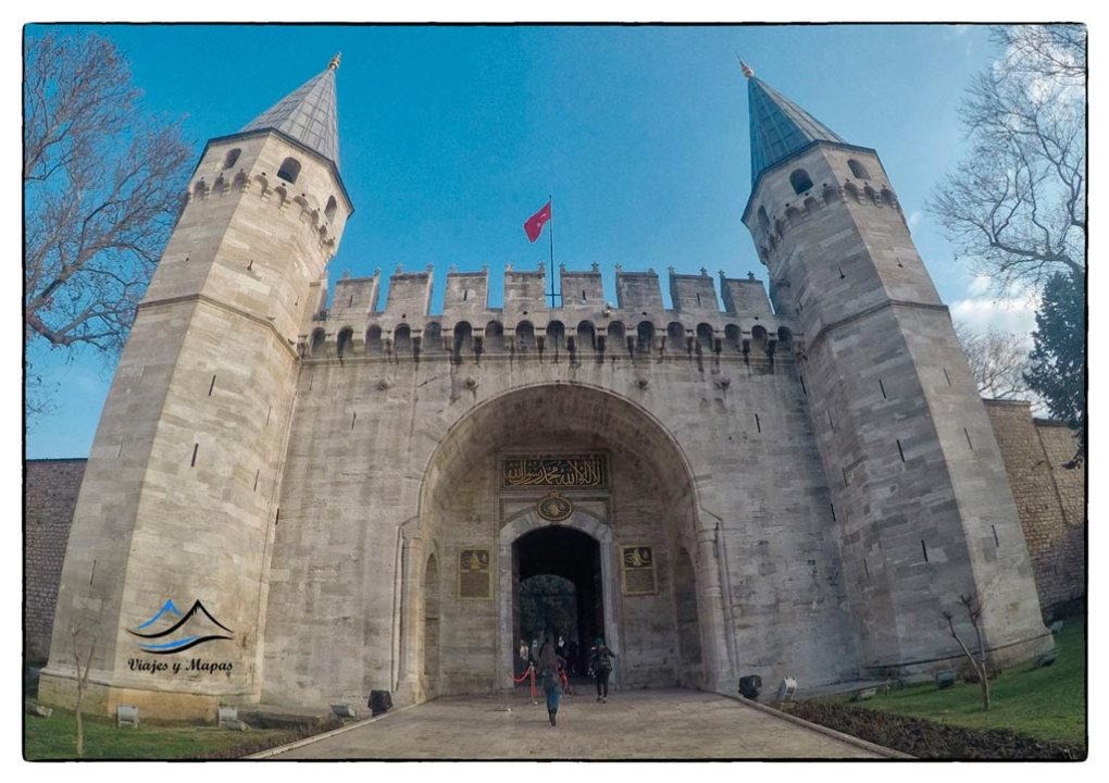 Visita al Palacio de Topkapi
