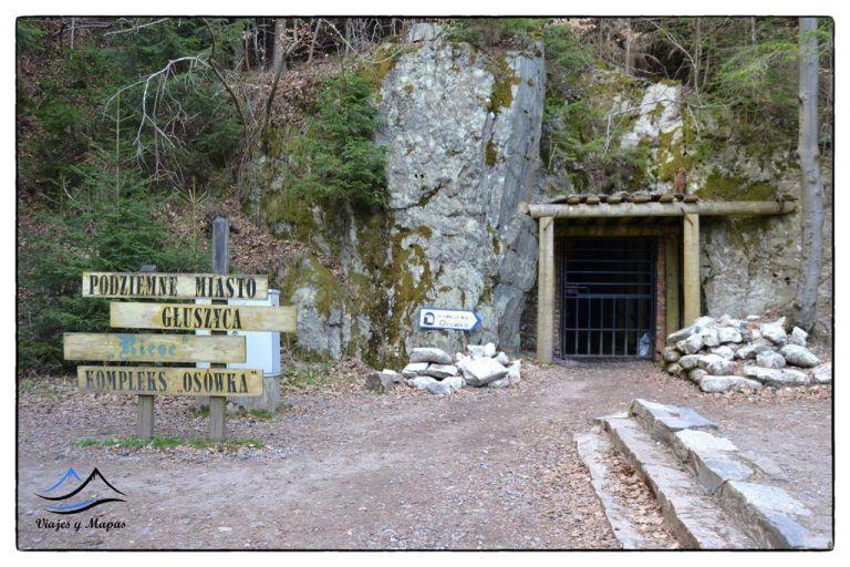 Entrada al Túnel de Osówka
