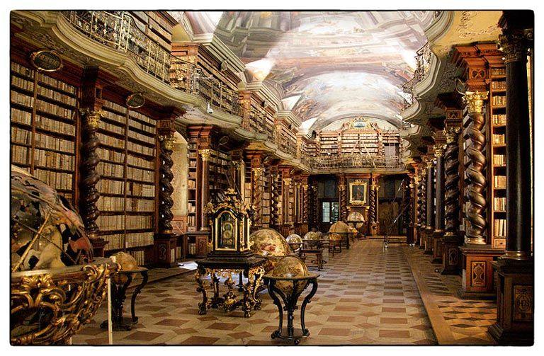 Clementinum-biblioteca