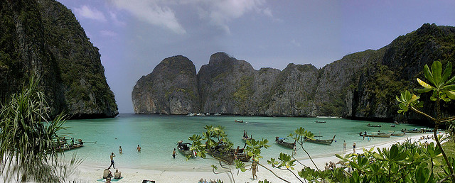 playa película la isla