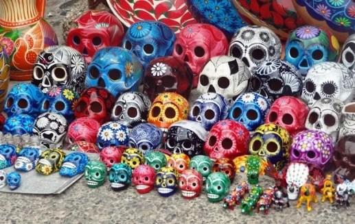 calaveritas mexico colores