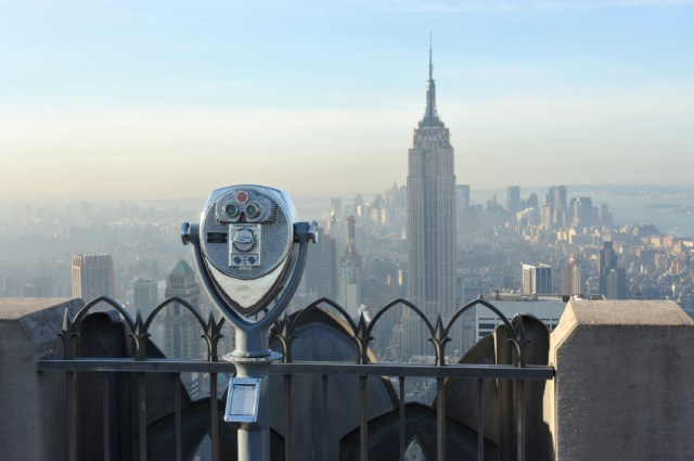 view over the city of New York