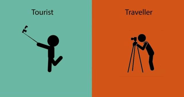 diferencias entre un viajero y un turista 1