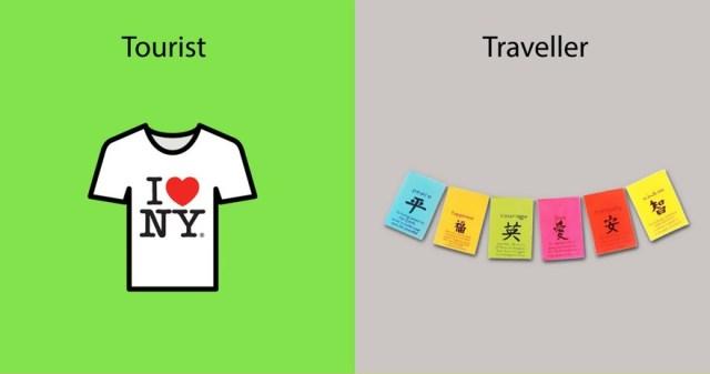 diferencias entre un viajero y un turista 6