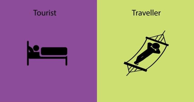 diferencias entre un viajero y un turista 7