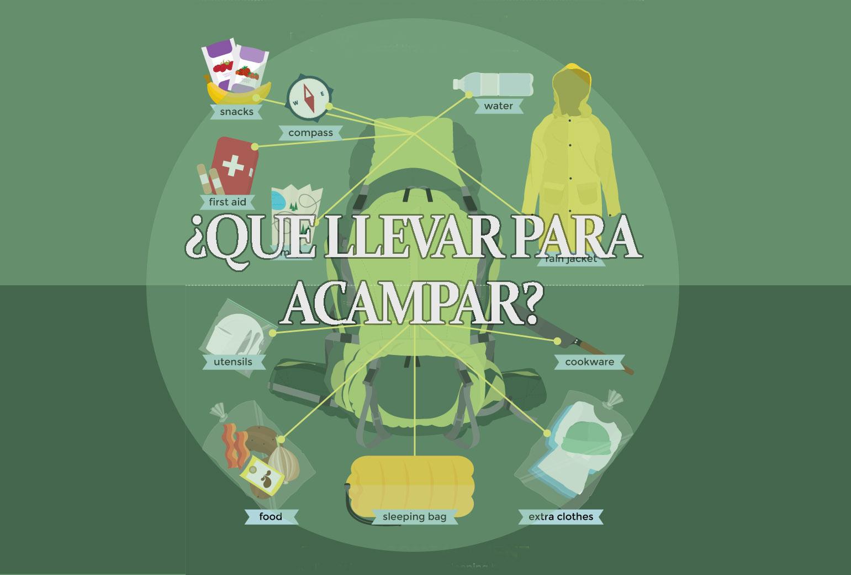 4b7c4fa465d 12 cosas que debes de llevar para acampar – Viaje Tip