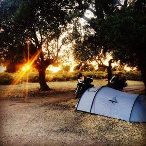 Material de acampada