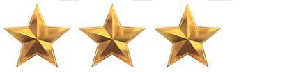 3 estrellas
