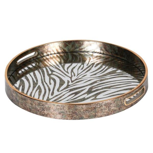 Zebra effect tray