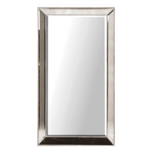Venetian style silver studded mirror