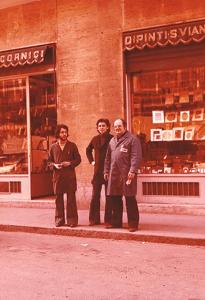 Stefano Vianzone con i suoi collaboratori Luigi e Rocco. - vianzone.it