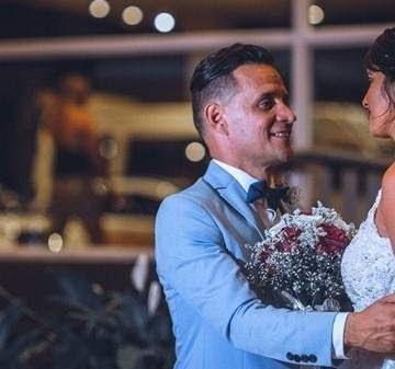 """Las fotos del casamiento de Roberto Edgar, exlíder de """"Volcán"""""""