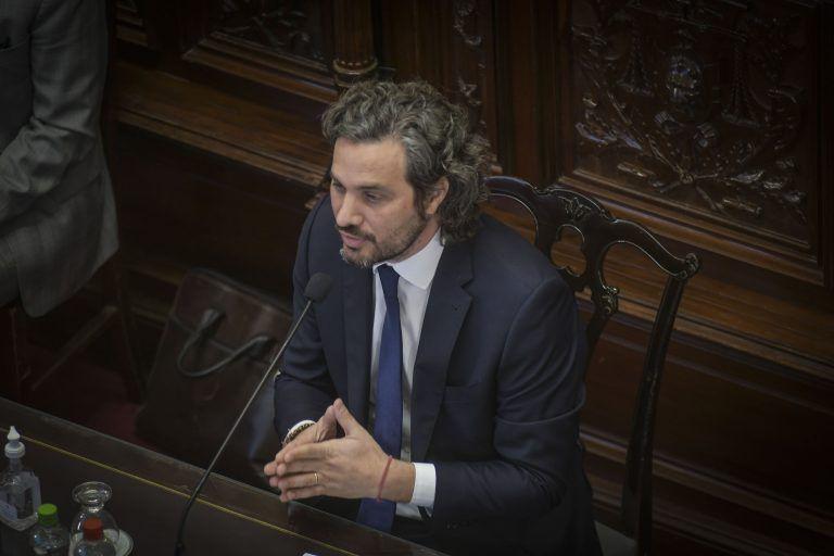Santiago Cafiero\nPresentando el informe de gestión en senado la nación Argentina\nFoto Federico Lopez Claro - FTP CLARIN FLC_8458\u002Ejpg Z Cimeco