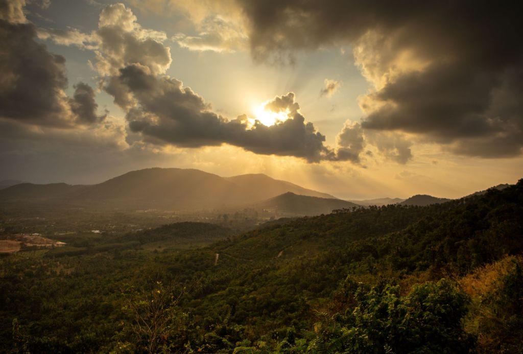 Diginomadina Thaimaassa - auringonlasku