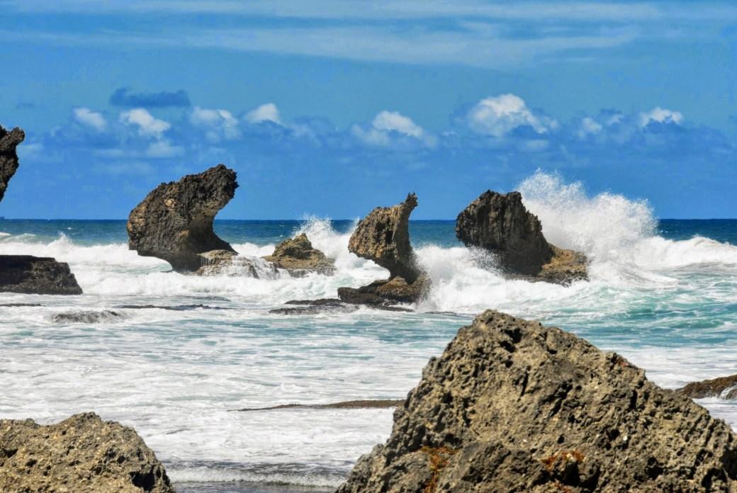 Meri - Päivän inspiraatiokuva, Bathsheba, Barbados