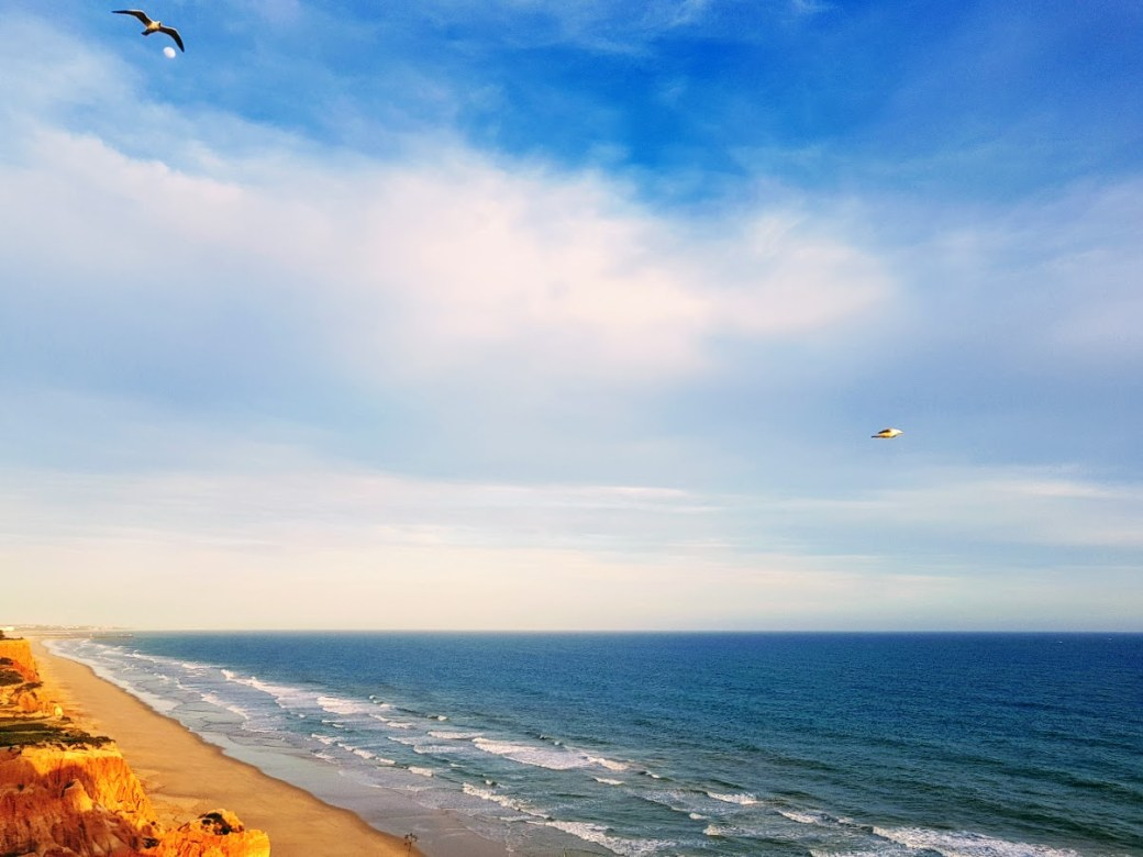 Meri - Päivän inspiraatiokuva Falesia