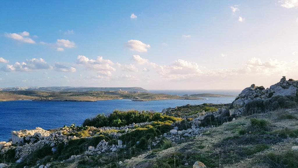Diginomadina Euroopassa , Hondoq Bay, Qala, Gozo