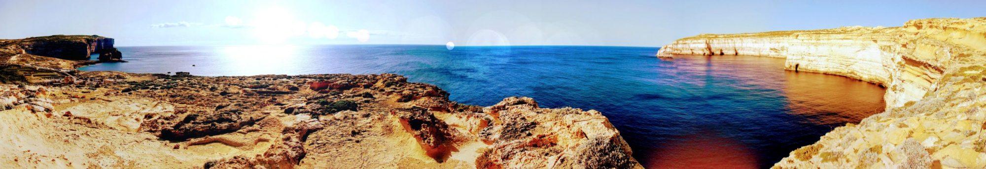 Gozon rantoja - Wied il-Għasri - Dwejra Bay