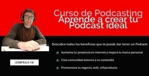 Curso online de podcasting