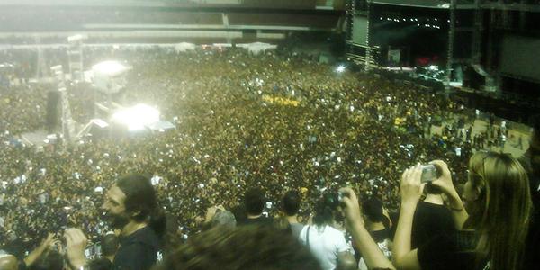 Show do Metallica - 30/01/2010