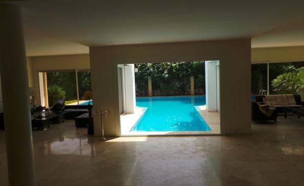 Location  Villa moderne californie  Viaprestige immobilier Casablanca