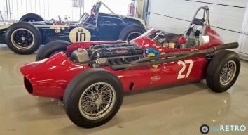 1960 Cooper T53 and 1958 Maserati Tec Mec