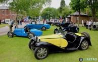 From vintage Bugattis...
