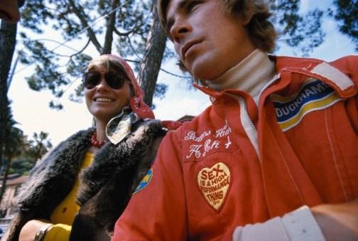 11 May 1975, Monte-Carlo, Monaco --- James Hunt, driver for Hesketh-Ford at the Monaco Grand Prix in Monte-Carlo. --- Image by © Schlegelmilch/Corbis