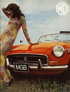 1970 MGB Brochure dtd 07-70 - 1