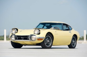 Toyota 2000GT yellow