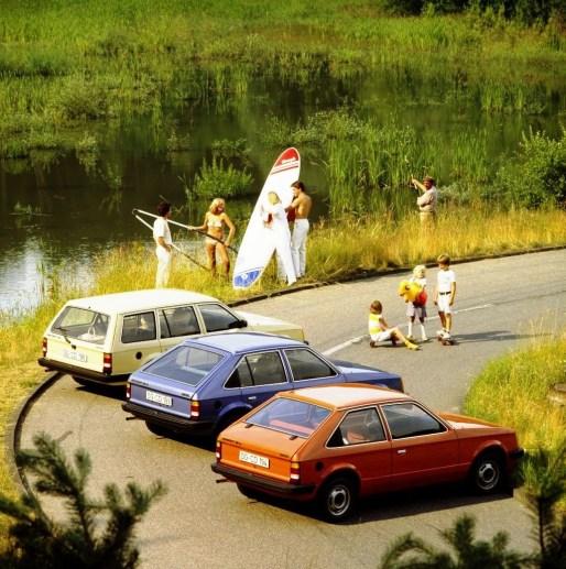 Opel Kadett D family