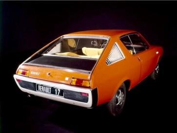Orange Renault 17 - b