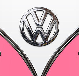 volkswagen-type-2-pink-and-white-volkswagen-t-1-samba-bus-on-yellow-serge-averbukh