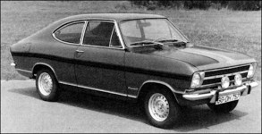 opel 1970 kadett b rallye ls
