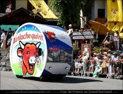 Caravane du Tour de France au Grand Bornand