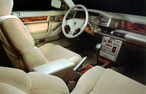 Rover 800 - Interior