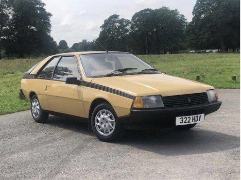 1984 Renault Fuego TL - 1
