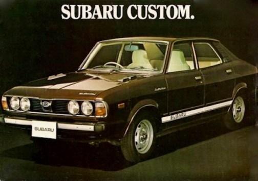 Subaru Custom brochure