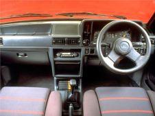 Ford Escort XR3 interior