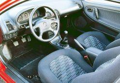 Mazda MX-3 interior