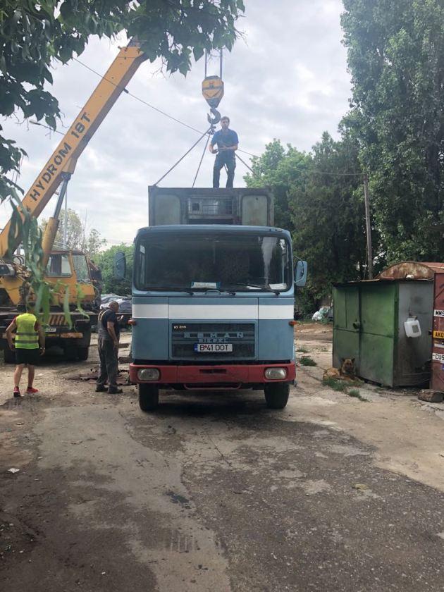 Demolare constructii provizorii