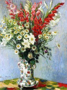 lilies-and-dasies-claude-monet-1878