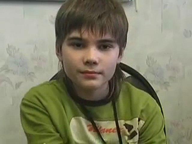 Boriska, el niño que alega ser marciano