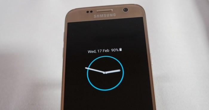 Always On: pantalla Galaxy S7 siempre estará encendida